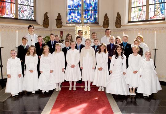 Erstkommunion in Oberzier und Ellen