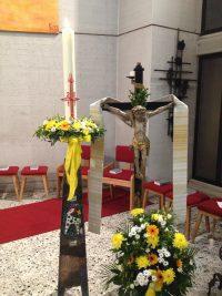 Ostersammlung und Rappeln der Messdiener Oberzier